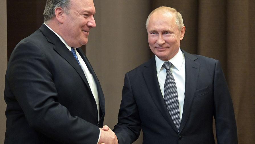Помпео оценил переговоры с Путиным