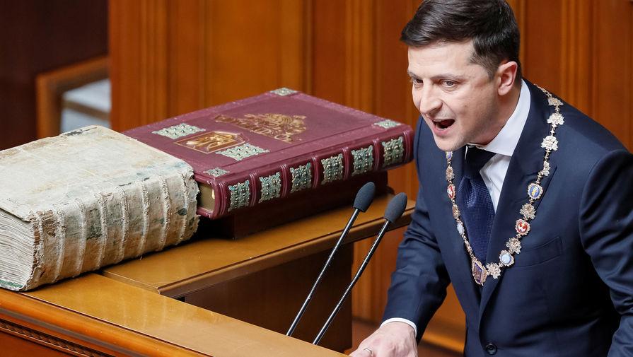 Зеленский подписал указ о роспуске Рады